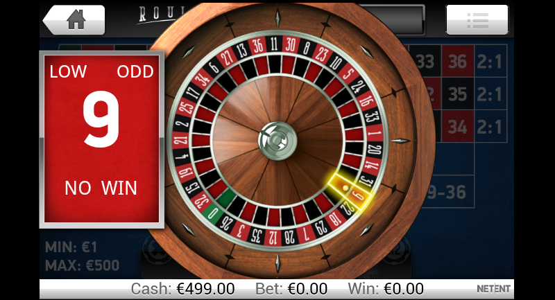 Roulette casino mister gadget