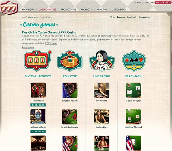 no deposit sign up bonus casino online www 777 casino games com