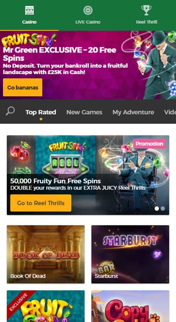mr mobile casino no deposit bonus